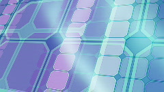 Scrolling shapes background Stock Footage
