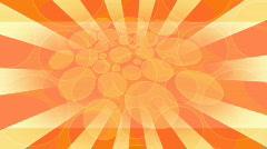 Orange and yellow retro background  Stock Footage