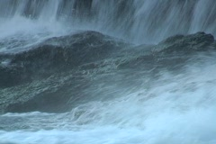 Shoal falls whitewater 1 Stock Footage