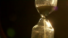 Sand clock Stock Footage