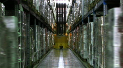 warehouse n006 3 - stock footage