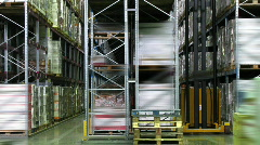 Warehouse n007 Stock Footage