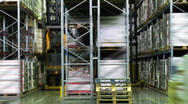Stock Video Footage of warehouse n007
