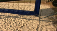 Stock Video Footage of Beach Volley Ball Court