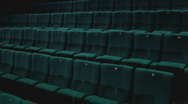 Cinema room with comfortable chairs Stock Footage