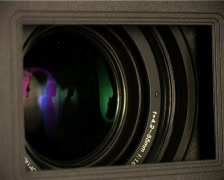 Camera lens Stock Footage