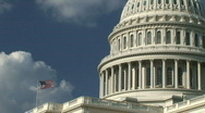Stock Video Footage of US Capitol