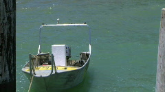 Stock Video Footage of  fishermans dinghy