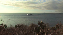 Sunset on the Galapagos Islands Stock Footage