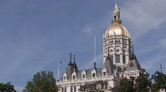 Connecticut State Capital Building - stock footage