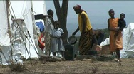 Stock Video Footage of IDP Camp in Naivasha, Kenya