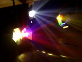 Stock Video Footage of party lights