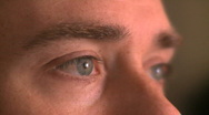 Stock Video Footage of Eyes of a Man in His 30's (3 of 4)