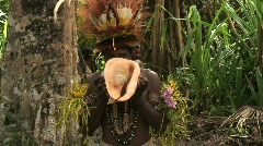 Papua New Guinea Sing Sing (Dance) Stock Footage