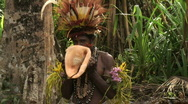 Stock Video Footage of Papua New Guinea Sing Sing (Dance)