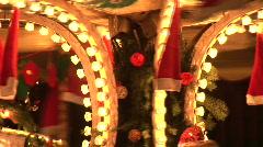HD1080i Christmas Market in Kaiserslautern City Germany Stock Footage
