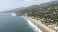 Stock Video Footage of LA aerials pacificcoast hwy16