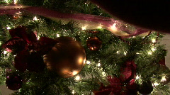 Christmas Tree 01 Stock Footage