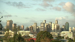 City Timelapse, Brisbane. - stock footage