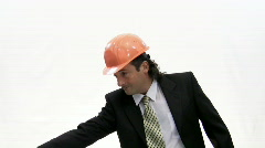 Head of building. Stock Footage