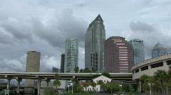 Tampa Skyline 1 Stock Footage