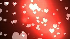 Happy Valentine's stinger Stock Footage