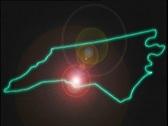 Map Graphic North Carolina Stock Footage