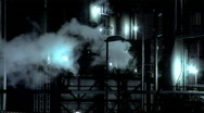 Stock Video Footage of Refinery Pipes (1080)