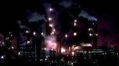 Colorful Refinery (1080) Stock Footage