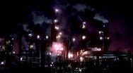 Stock Video Footage of Colorful Refinery (720)