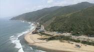 Stock Video Footage of LA aerials pacificcoast hwy13