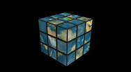 Stock Video Footage of Earth rubik