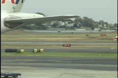 Airplane Taxis On Tarmac 1 - stock footage