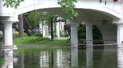 Relaxing park scene 2 Stock Footage