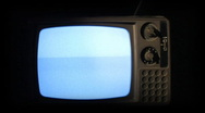 Stock Video Footage of Old TV Turns Off 020 - SD