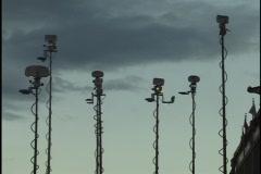 Broadcast Satellite Uplinks 2 Stock Footage
