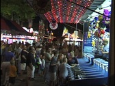Carnival Wide Shot Stock Footage