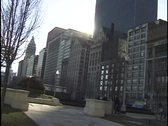 Chicago Michigan Avenue Stock Footage