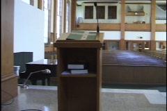 Christian Church Sanctuary 2 Stock Footage