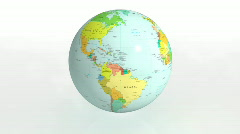 Earth political Stock Footage