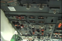 Cockpit Stock Footage