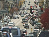 Congested Street 1 Stock Footage