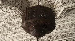 Lantern maroc Stock Footage