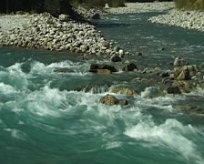 Mountain Stream in Alps/Austria. Stock Footage