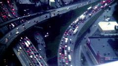 Traffic aerial Stock Footage
