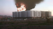 Stock Video Footage of warzone building iraq