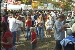 Food Festival Stock Footage