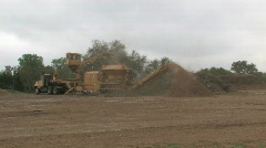 tree shredder M HD - stock footage