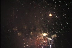 Fourth of July Fireworks 7 - stock footage