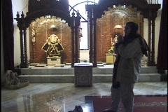 Hindus Praying at Shrines 2 Stock Footage